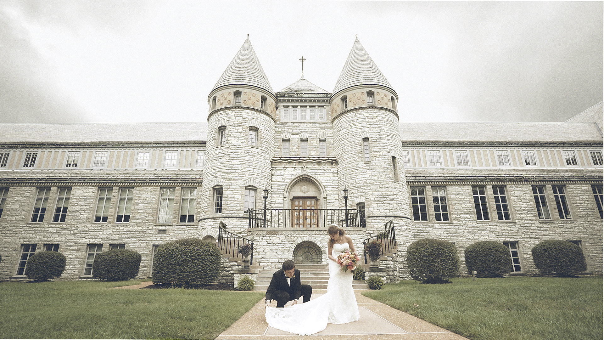 Villa Duchesne St Louis Wedding Day
