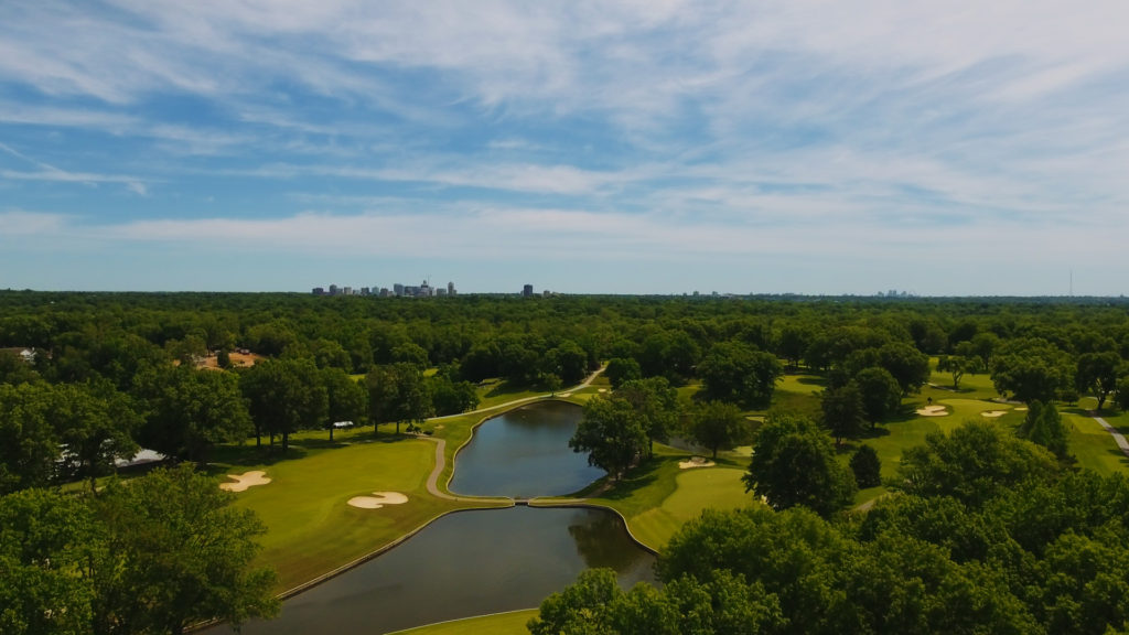 Old Warson Country Club Drone Services by Gaadt Productions