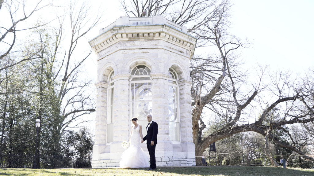 Maggie and Philip's Wedding at the Missouri Botanical Gardens / videography