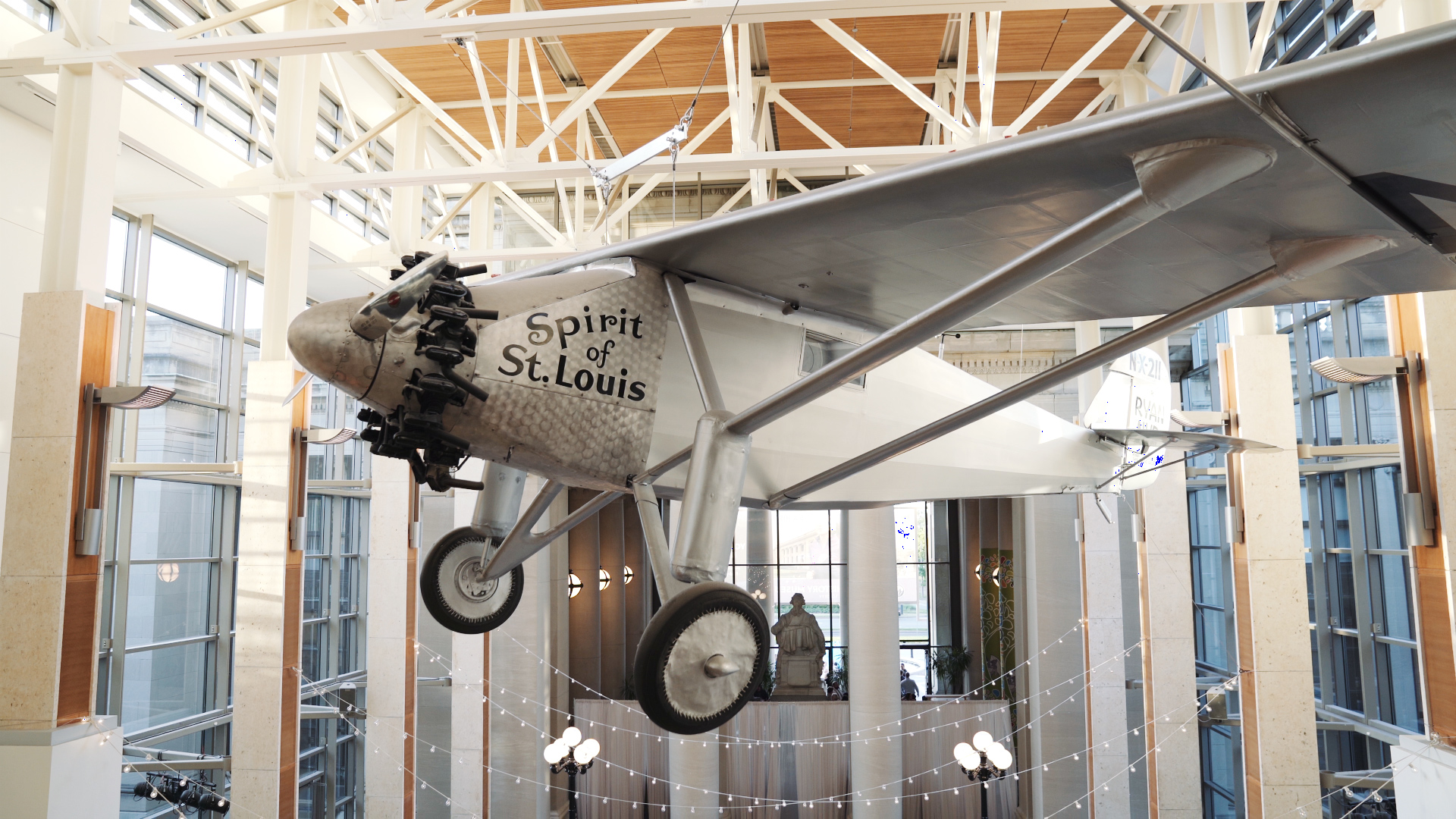 Missouri History Museum Wedding Video - Spirit of St Louis