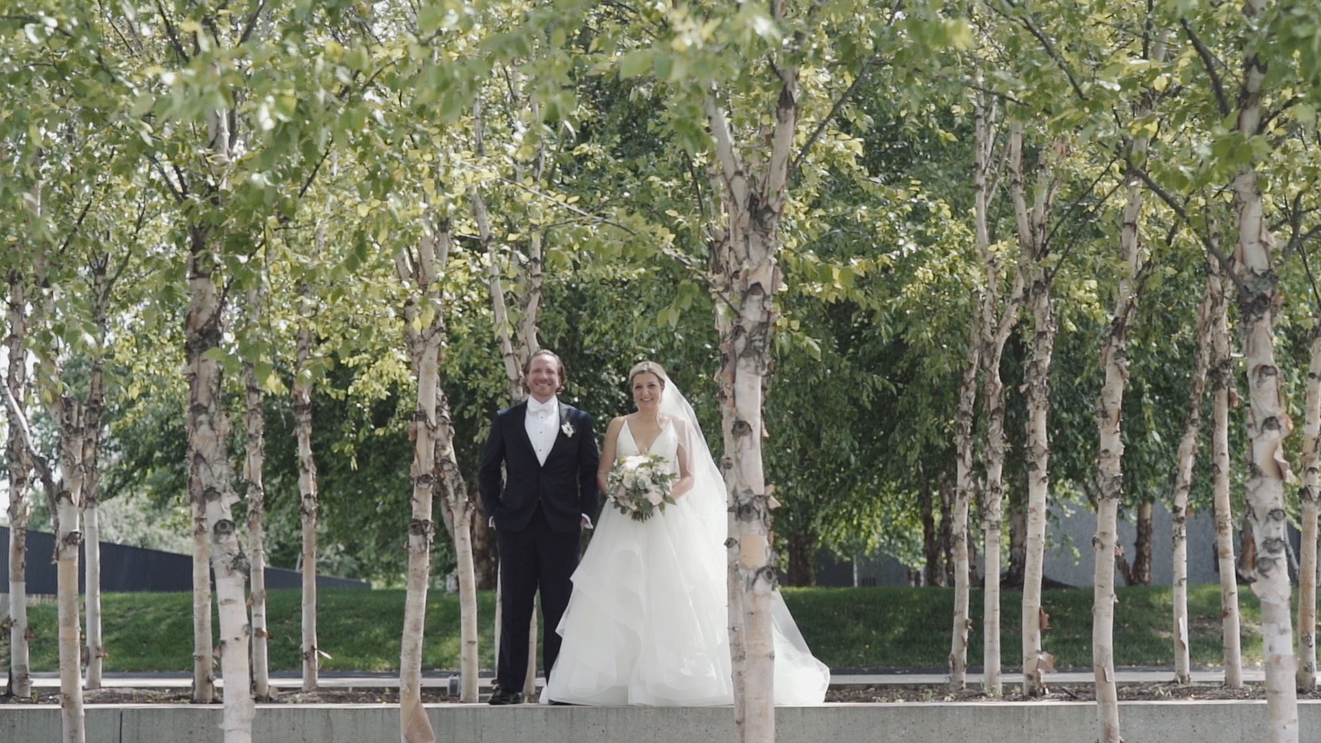 Forest Park Wedding Video - First Look Art Museum