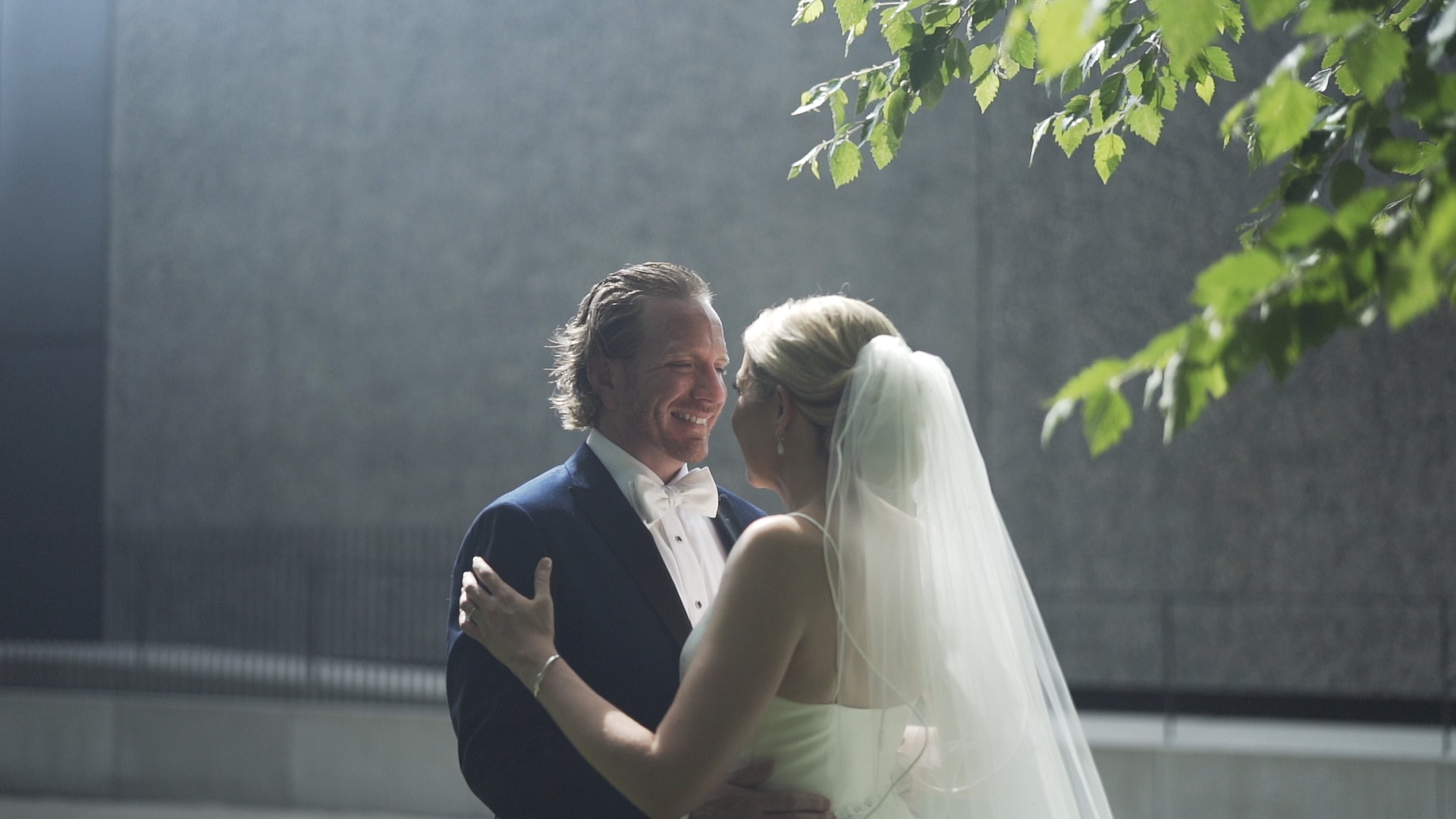 Forest Park Wedding Video - First Look