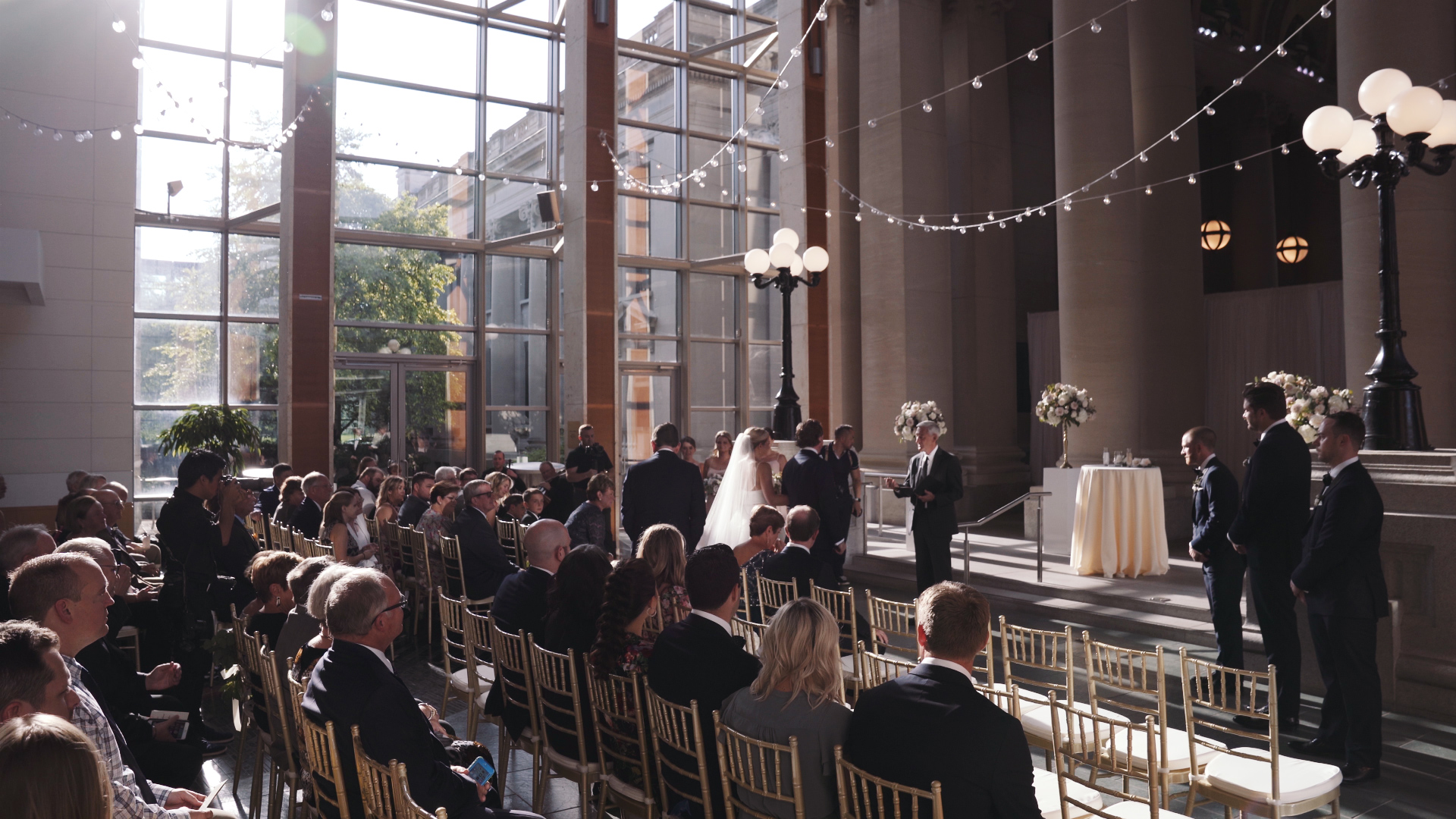 Missouri History Museum Wedding Video - Ceremony