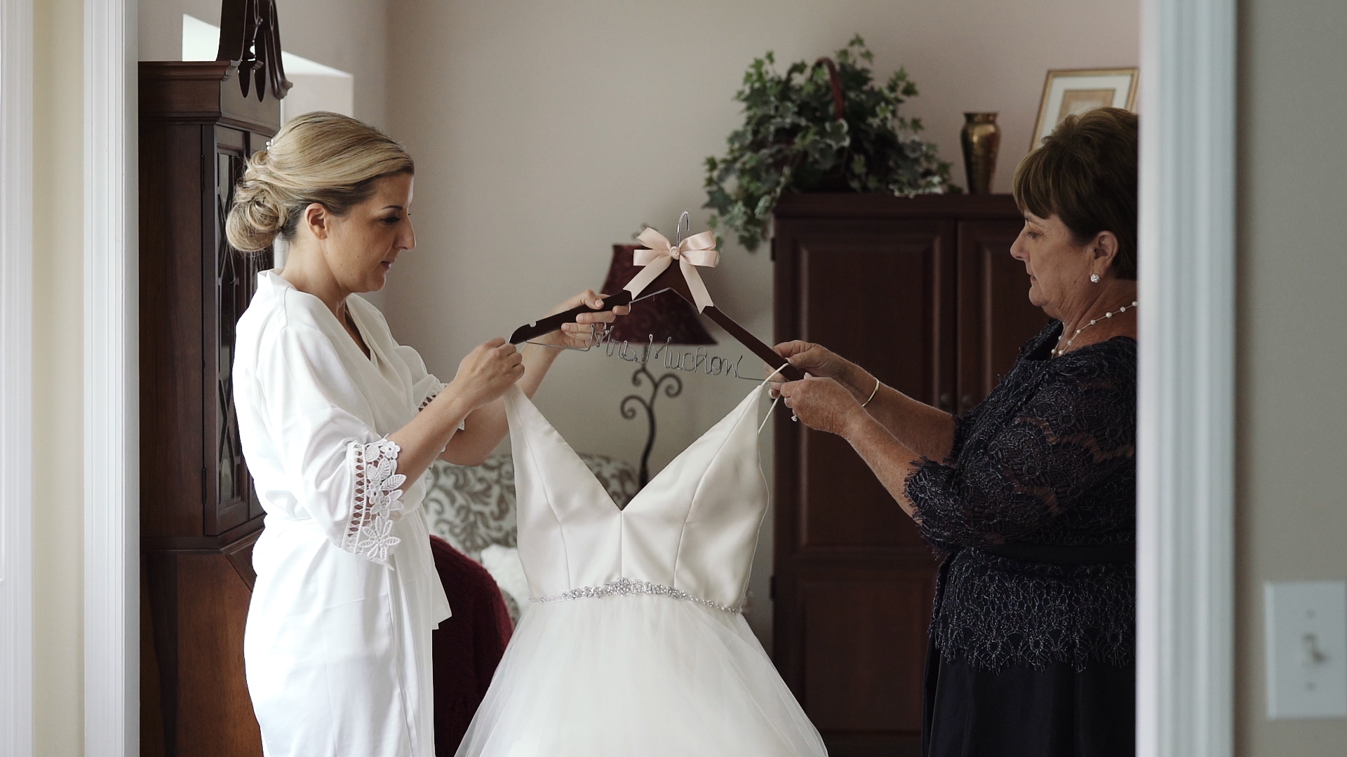 Mother and Daughter - Bride Dress