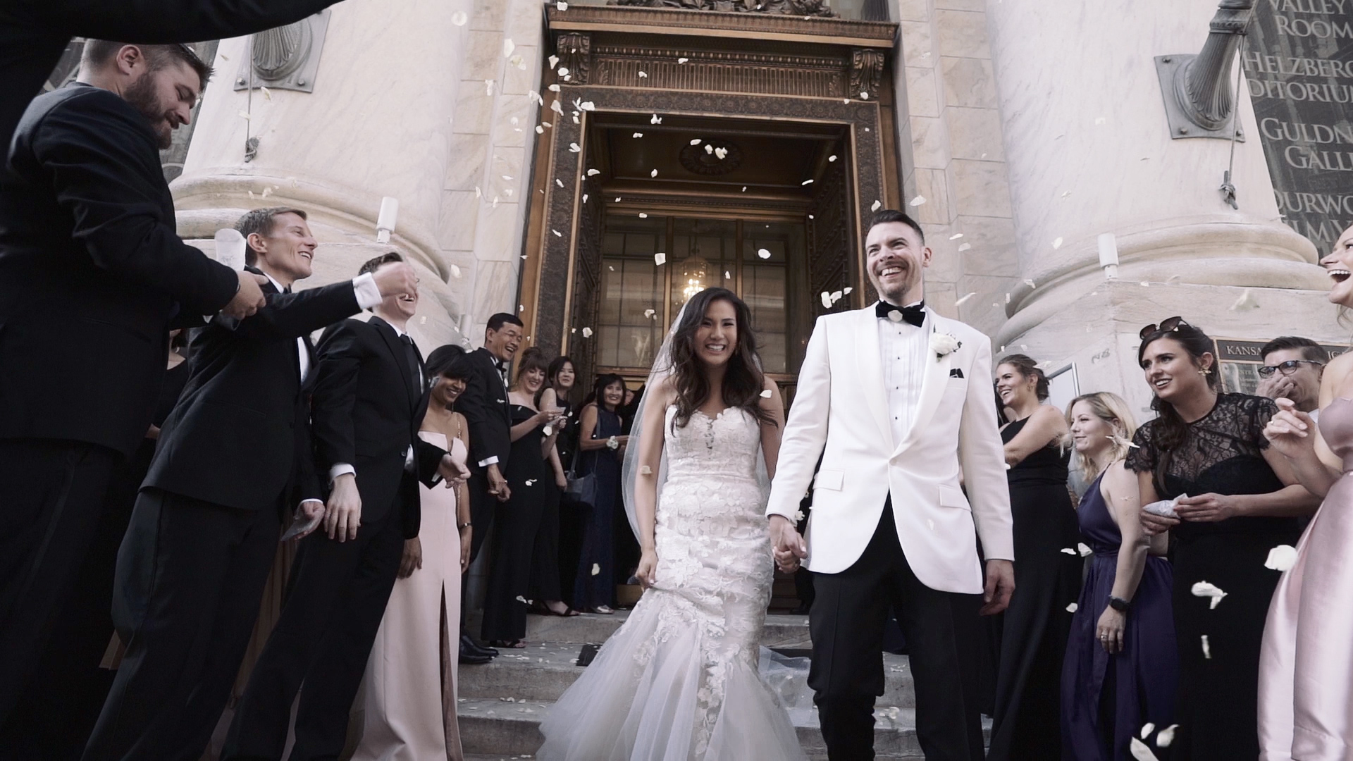 Wedding Video at KC Public Library