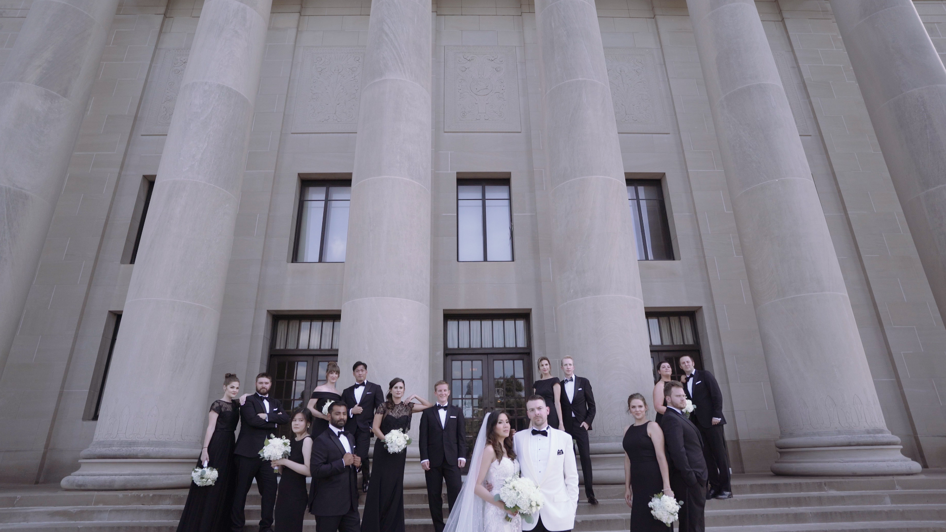 Nelson-Atkins Museum Of Art wedding photo